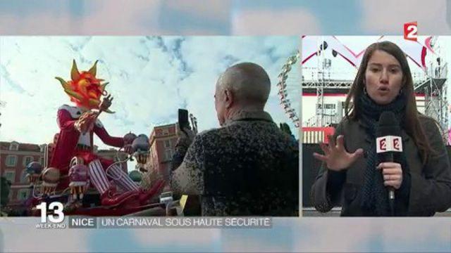 Carnaval de Nice : sécurité renforcée