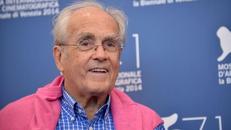 Le compositeur français Michel Legrand lors du festival du film de Venise (Italie), le 28 août 2014. (TIZIANA FABI / AFP)