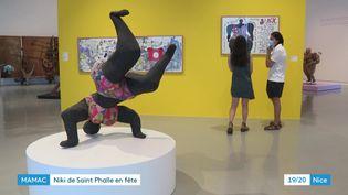Vue de la salle d'exposition Niki de Saint Phalle au MAMAC de Nice. (France 3 Provence-Alpes-Côte-d'Azur)