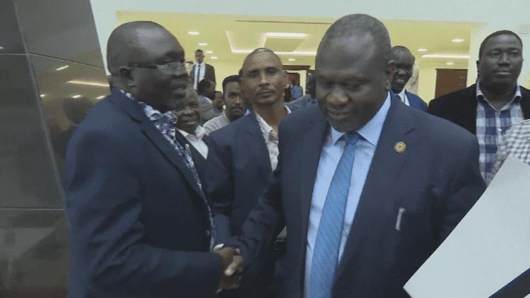 Soudan du Sud, une signature pour la paix (France 24)
