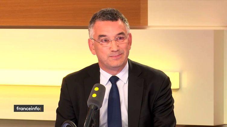 Jean-Philippe Puig,directeur général du groupe Avrilsur franceinfo, le 12 juin 2018. (FRANCEINFO / RADIOFRANCE)