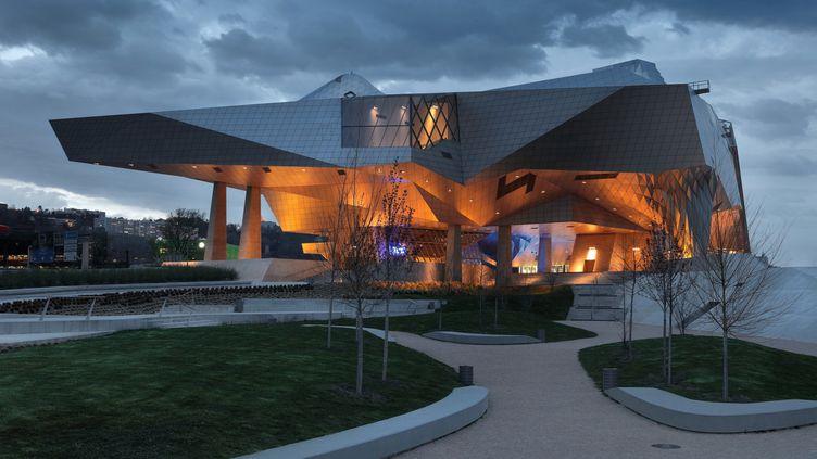 Le musée des Confluences à Lyon, en décembre 2020. (MANUEL COHEN / AFP)