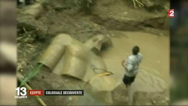 Égypte : colossale découverte d'une statue de Ramsès II