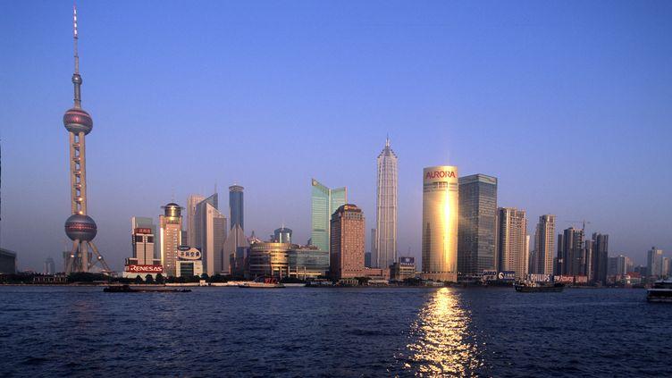 La ville de Shanghai, en Chine. (STEPHANE FRANCES  / AFP)