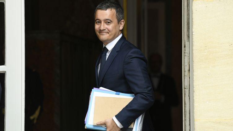 Le ministre de l'Action et des Comptes publics, Gérald Darmanin, à Matignon, le 29 avril 2019. (BERTRAND GUAY / AFP)