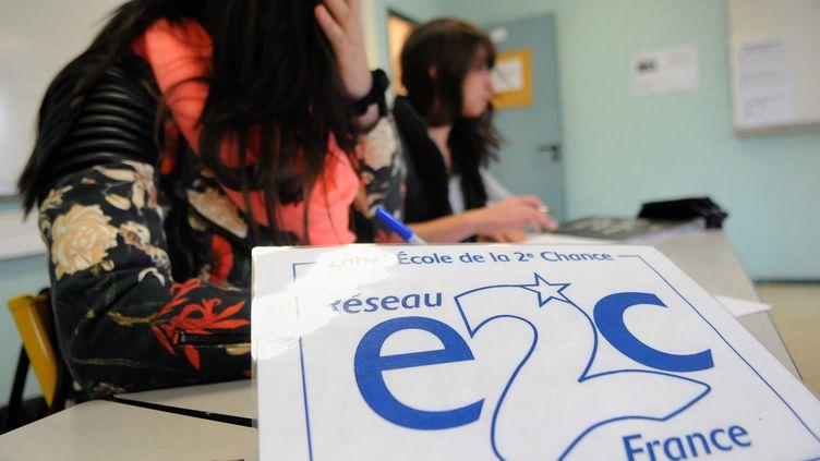 Le réseau des écoles de la deuxième chance (E2C) compte 51 établissements, celle de Blois, ici en décembre 2014. (MAXPPP)