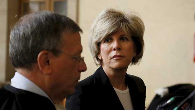 (Sylvie Andrieux, députée de Marseille, comparait en appel pour détournement de fonds publics © Maxppp)