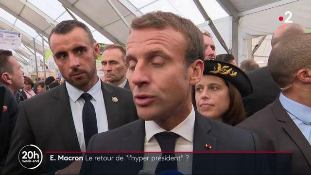 Emmanuel Macron : le retour de l'hyperprésident ?