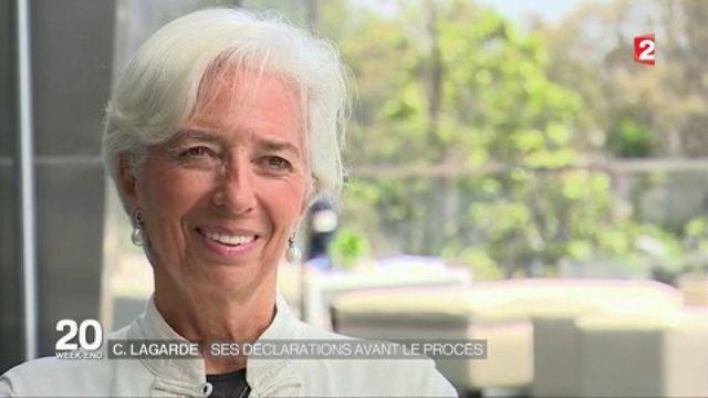 Christine Lagarde : ses déclarations avant le procès