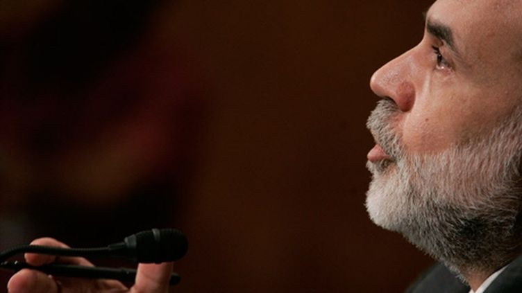 Ted Bernanke (© AFP/Mark Wilson/Getty)