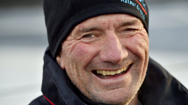 Kito de Pavant, skipper du Vendée Globe. (LOIC VENANCE / AFP)