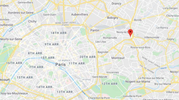 Noisy-le-Sec en Seine-Saint-Denis. (GOOGLE MAPS)