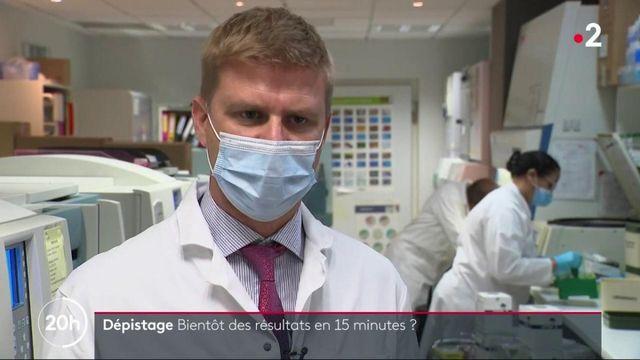 Coronavirus : la promesse de tests beaucoup plus rapides