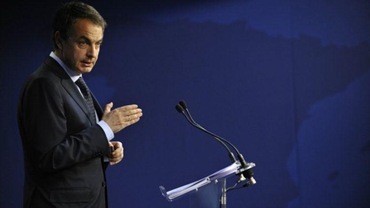 Le président du Conseil espagnol, José Luis Zapatero
