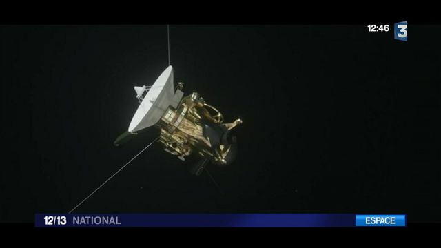 Espace : dernière mission pour la sonde Cassini