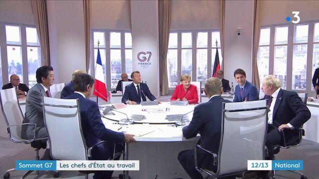 Sommet du G7 : un premier dîner de travail pour les chefs d'État