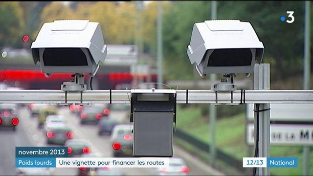 Poids lourds : une vignette pour financer les routes