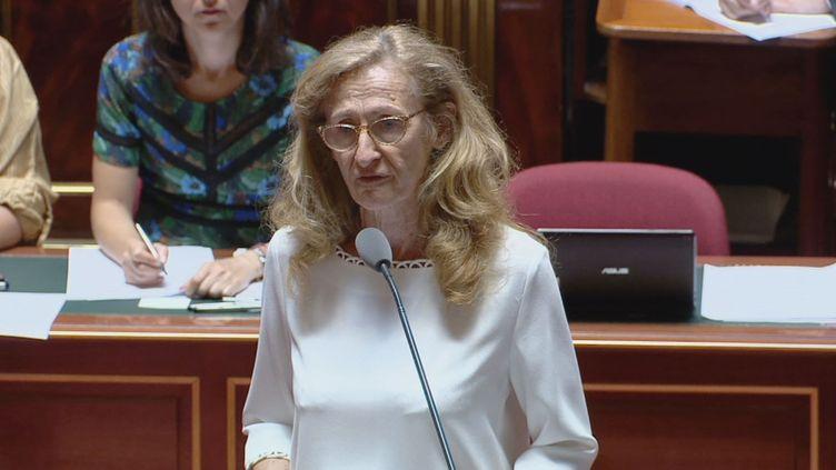 La garde des Sceaux Nicole Belloubet au Sénat, le 5 juillet 2018 (Public Sénat)
