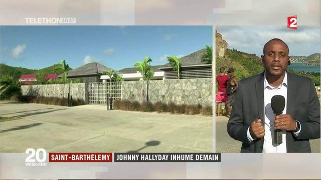 Saint-Barthélémy : Johnny Hallyday inhumé demain