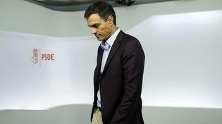 L'ancien chef du Parti socialiste espagnol, Pedro Sanchez, le 1er octobre 2016 à Madrid. (FRANCISCO SECO/AP/SIPA / AP)