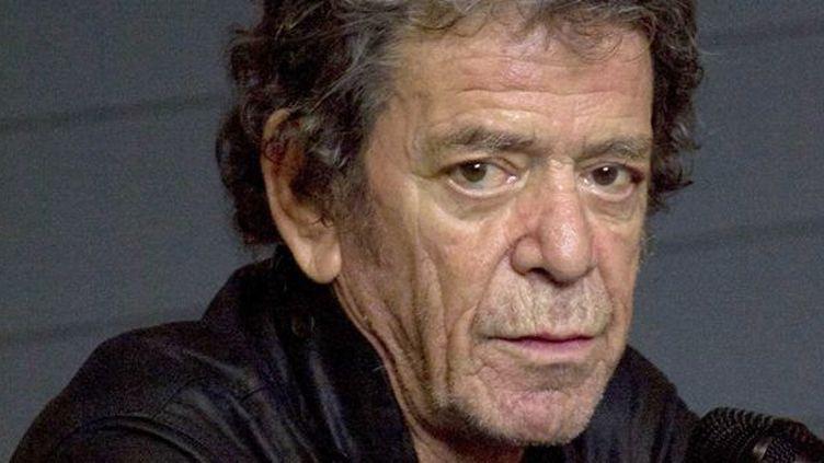 Lou Reed en novembe 2012.  (UNIMEDIA/SIPA)