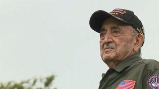 Onofrio Zicari, vétéran américain, avait 21 ans lorsqu'il a participé au Débarquement en Normandie, le 6 juin 1944. (FRANCE 2)