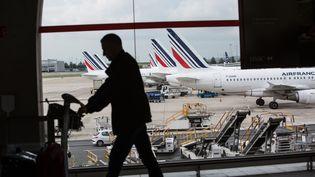 L'aéroport d'Orly (Val-de-Marne) lors de la grève des pilotes d'Air France, le 11 juin 2016. (IRINA KALASHNIKOVA / SPUTNIK / AFOA)