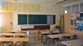 Les élèves sont privés d'écoles depuis le 17 mars 2020 en raison des mesures de confinement visant à luttercontre l'épidémie de coronavirus en France. Photo d'illustration. (ALAIN DELPEY / MAXPPP)