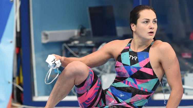 Beryl Gastaldello avait battu le record de France ce matin  (STEPHANE KEMPINAIRE / STEPHANE KEMPINAIRE)