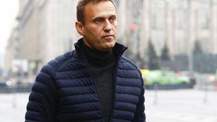 L'opposant russe Alexeï Navalny, le 29 septembre 2019 à Moscou (Russie). (SEFA KARACAN / ANADOLU AGENCY / AFP)
