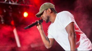 """(Kendrick Lamar a sorti en 2015 son troisième album, """"To Pimp A Butterfly"""" © Paul A. Hebert/AP/SIPA)"""
