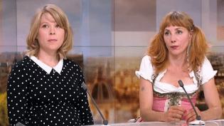 India Hair et Julie Depardieu  (France 3 / culturebox / capture d'écran)
