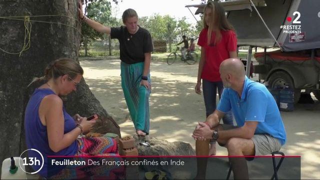 Cette semaine, France 2 vous fait partager le quotidien des Français confinés à l'étranger. Ils n'ont pas voulu rentrer en France pour des raisons personnelles ou professionnelles. Le premier épisode, ce lundi 25 mai, se déroule en Inde.