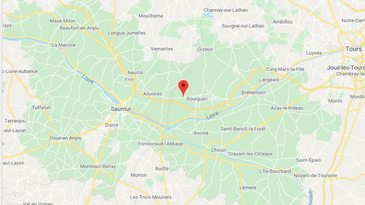 Saint-Nicolas-de-Bourgeuil, en Indre-et-Loire. (GOOGLE MAPS)