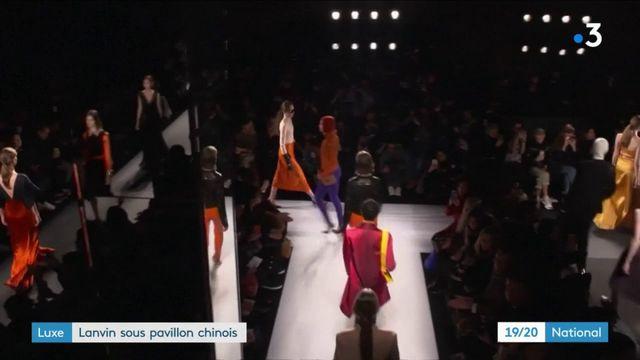 Luxe : Lanvin sous pavillon chinois