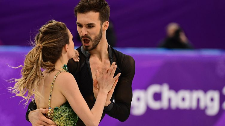 Gabriella Papadakis et Guillaume Cizeron (ROBERTO SCHMIDT / AFP)