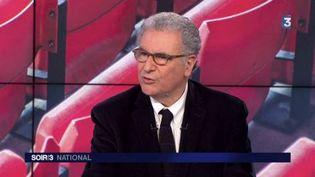 Serge Toubiana, président d'UniFrance. (FRANCE 3)