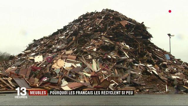 Meubles : pourquoi les Français recyclent si peu