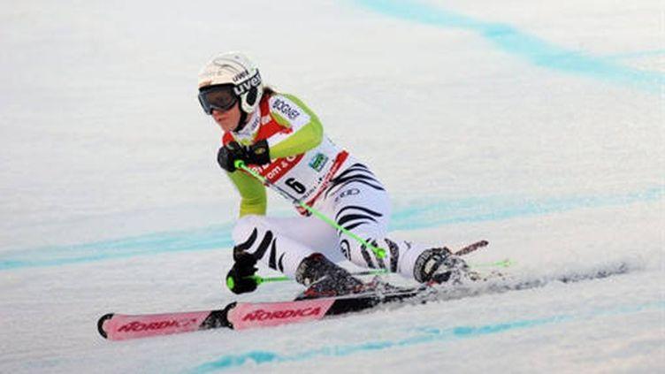 Viktoria Rebensburg à l'attaque
