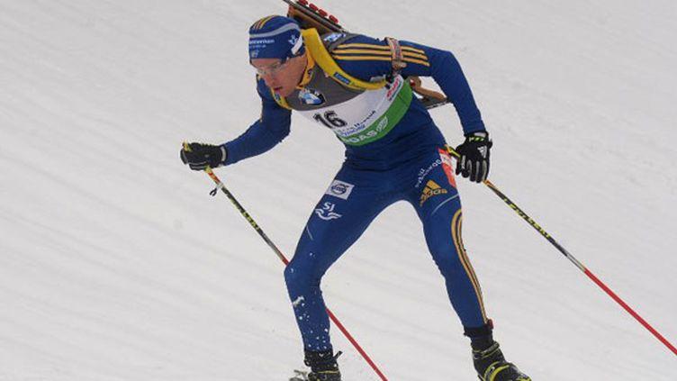 Le biathlète suédois Björn Ferry