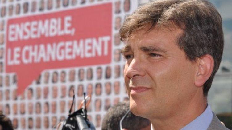 En tant que secrétaire national à la rénovation, Arnaud Montebourg a porté le projet d'une primaire ouverte à tous les électeurs. (Optional, TTL / citizenside.com)