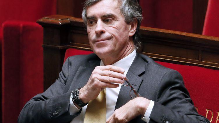 L'ancien ministre du Budget Jérôme Cahuzac, le 11 décembre 2012 lors d'une séance de questions au gouvernement, à l'Assemblée nationale à Paris. (PATRICK KOVARIK / AFP)