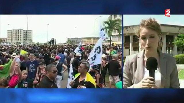 """""""Journée morte"""" en Guyane : la mobilisation va-t-elle durer ?"""