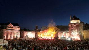 Le public lors d'un festival Jazz en ville à Vannes en 2019. (FRANCOIS DESTOC / MAXPPP)