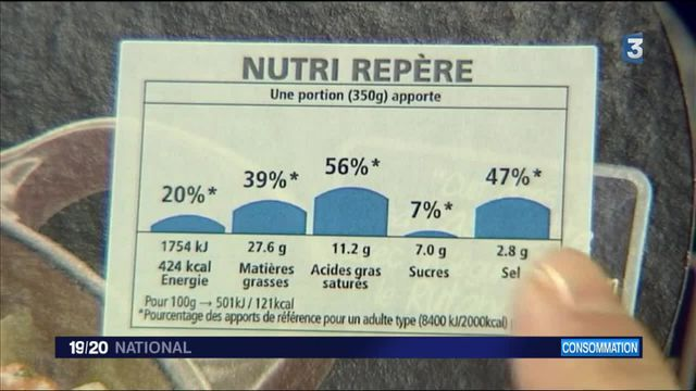 Santé : des étiquettes nutritionnelles en test