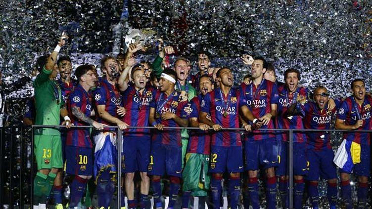 (Barcelone remporte la Ligue des Champions pour la 5e fois  © Reuters)