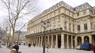 La Comédie-Française, à Paris (19/02/2004)  (Jean-Loup Gautreau / AFP)