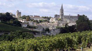 Le village de Saint-Emilion (Gironde), le 29 novembre 2012. (NICOLAS TUCAT / AFP)