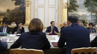 Conseil des ministres le 17 octobre 2017, Paris. (FRANCOIS MORI / POOL / AFP)