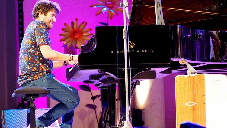 Lors de la soirée inaugurale, Harold López-Nussa et son trio ont enflammé le public de Jazz à Ramatuelle (août 2019) (Sylvie Pascarel)
